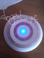 Cosplay - TRON Discus by halogenlampe