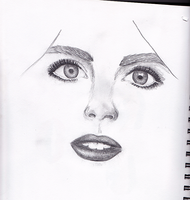 an unfinished portrait by lindsaaaay