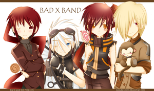 Bad x band by maguro-chan