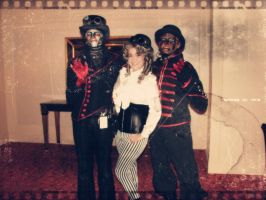 Steam Powered Giraffe and I by rankin24