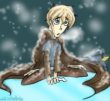 Human Jack Frost by HezuNeutral