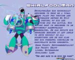 WhirlpoolMan Data Card by MegaPhilX