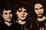 MCR - Frankie, Gerard and Ray by weedenstein