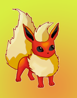 Flareon by dolcesunset