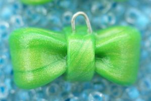 Green Bow by Shelby-JoJewelry