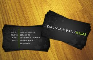 First Business Card by F3rk3S