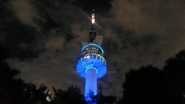 Do you know Namsan Tower? by ChibiHugs