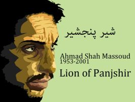 Ahmad Shah Massoud by Mubtari