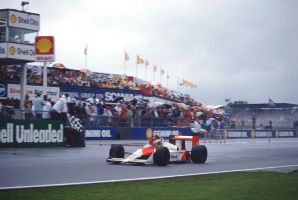 Ayrton Senna (Great Britain 1988) by F1-history