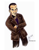 the Ninth Doctor by aimeekitty