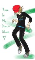 These is my dancin' shoes by GodessFae