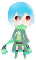 Blinky: Dee Holly Chibi (character ref) by NoizRnel
