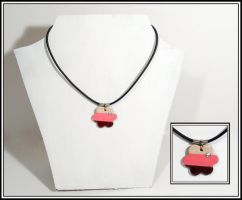 Neapolitan Flower Necklace by chat-noir