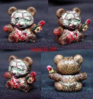 Leather Face Bear Chainsaw by Undead-Art