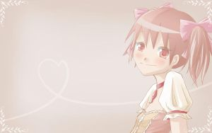 madoka wallpapper by uyuni