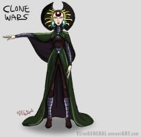 Duchess Satine - CWS2 Concept by ElTheGeneral