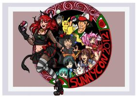 sunnycon 2012 print by sophira-moonlily
