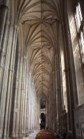 Canterbury Cathedral IV by YunaHeileen