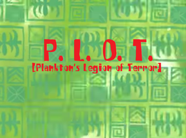 Fictional SpongeBob Title Card - P.L.O.T. by TVBRobotnik