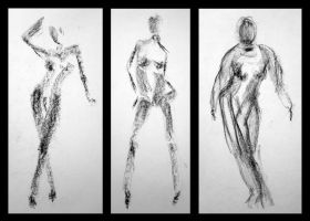Body sketches I by vesela86