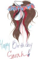 Happy Birthday Sarah by iStealUrCandy