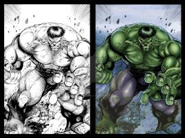 The Incredible Hulk by RobertoRibeiro