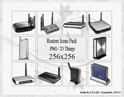Routers Icons Pack by conzumir
