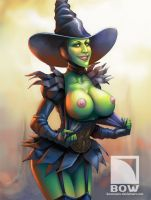 West Witch by bowcomix