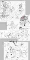 Sketch dump7 by Vongrell