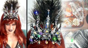 Crown of Sofia Metal Queen. With swarovski by SOFIAMETALQUEEN