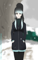 Hika in the snow by xXRyushi