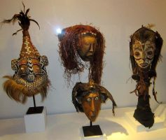 African Permanent Collection (3) by QCC-Art