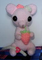Pink Sugar Mouse by AtinaP