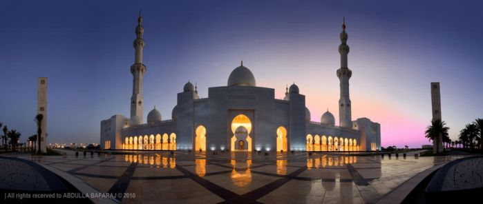 Mosque in Paradise III by UAESMILE