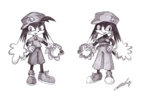 Klonoa: Past and Present by Miss-Chibi