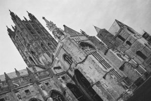 Canterbury Cathedral by OsmocisingMonkey