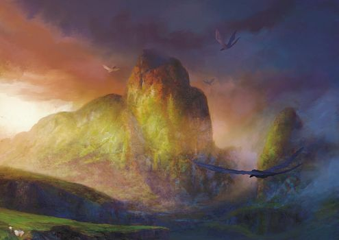 The valley of the wind by elbardo