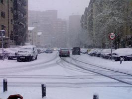 Snow In Madrid by Tay-GSi