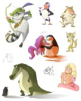PoM doodles by CandleBell