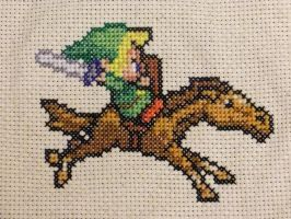 Link and Epona by Mickeycricky