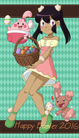[PKMN OC] Happy Easter 2016 by Amadere