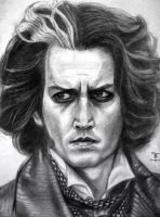 Sweeney Todd by tanjadrawing