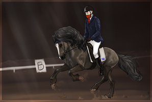 Polstjarna Dressage at SFR by Auraleyki