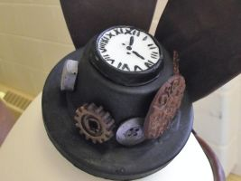 Chocolate Steampunk Hat by TinaCaper