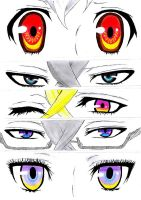 Circus Eyes - Karneval by carolinachaves