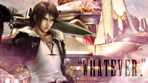Final Fantasy Valentine - Squall by fairygodpiggy