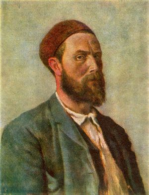 Kittelsen selfportrait by STelari