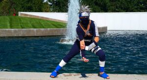 Young Kakashi Cosplay by Smudgeandfrank
