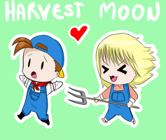 Harvest Moon: Boys and Girls by kikodv