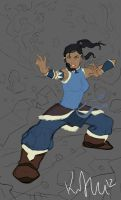 Legend of Korra by KIRKparrish